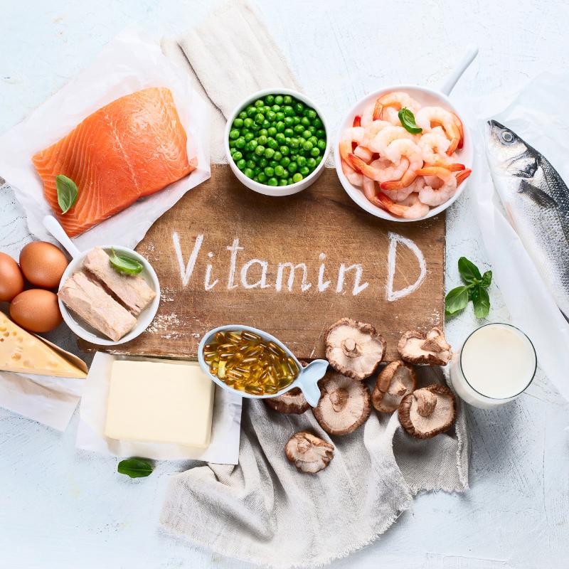 Vitamín D zdroj