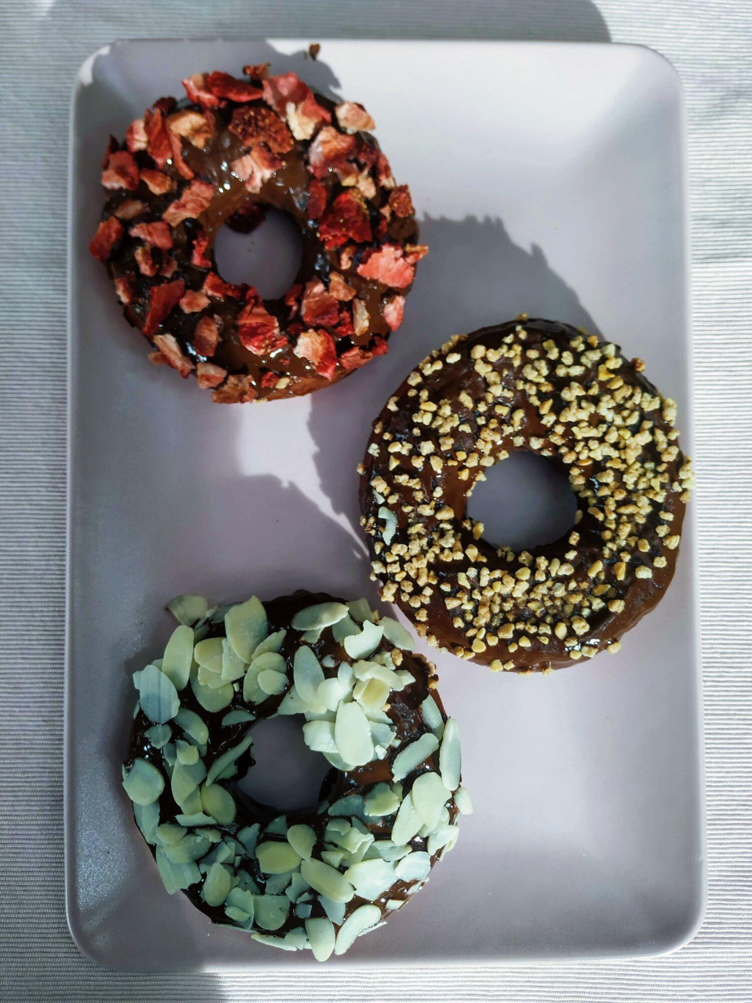 Vegan donuty